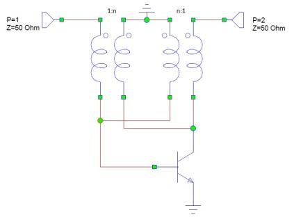 Amplificador con realimentación basada en acoplador direccional