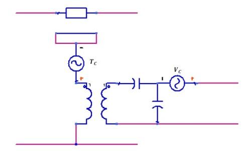 Modelo de Mason con las fuentes no lineales